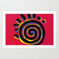 Indigenous Sun Art Print
