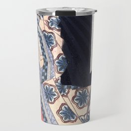 Sotoorihime, goddess of Japanese poetry Travel Mug