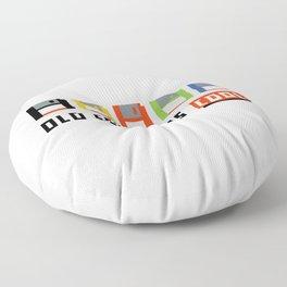Floppy Disk Floor Pillow