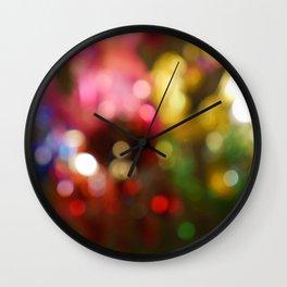 Light Bokeh Wall Clock