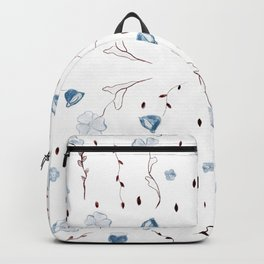 Floral Pattern #1 #drawing #decor #art #society6 Backpack