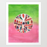 indonesia Art Prints featuring Indonesia by Beegy Green