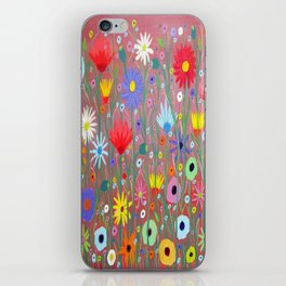 Flowers-Abstracts  iPhone Skin