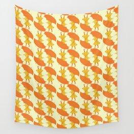 Rainy Day Sunshine Wall Tapestry