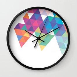 Geometric Light Wall Clock