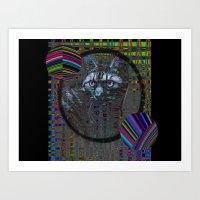 Meow Nyan Art Print
