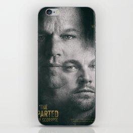 The Departed, Martin Scorsese movie poster, Leonardo DiCaprio, Matt Damon, american mafia film iPhone Skin