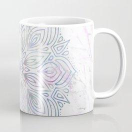 Marble Mandala - Purple Blue Rose Gold Coffee Mug