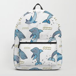 Dancing Dolphins Backpack
