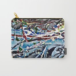 Woman swimming Carry-All Pouch