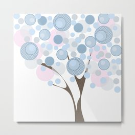 Abstract tree Metal Print