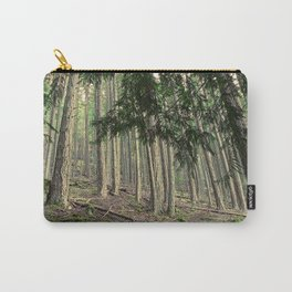 WARM AUTUMN EVENING FOREST Carry-All Pouch