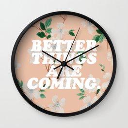 Positivity Wall Clock
