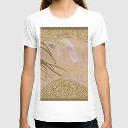 Shibata Zeshin - Leaves - Digital Remastered Edition T-shirt