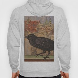Crow and Snow Hoody