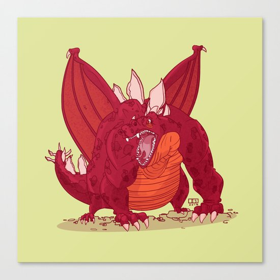 Dragonnate Canvas Print