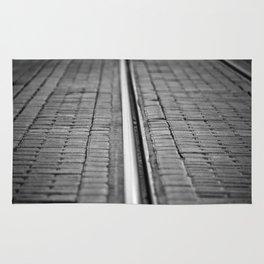 Tracks. Rug