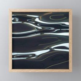 H2O # 29   water abstract Framed Mini Art Print