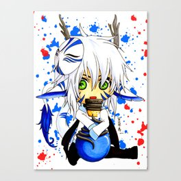 DragonKin_Mana Canvas Print
