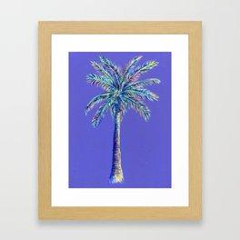 palm tree painting Framed Art Print