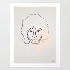jm Art Print