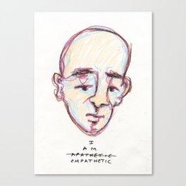 empathetic Canvas Print