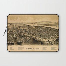 Map Of Catskill 1889 Laptop Sleeve