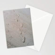 Furry Footprints Stationery Cards