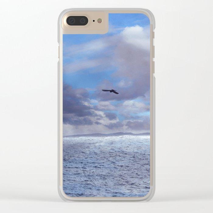 Pastel vibes 42 - El vuelo II Clear iPhone Case
