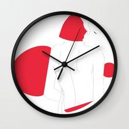 redwoman Wall Clock