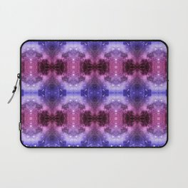 Beautiful Blaue Pink Space Pattern Laptop Sleeve