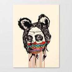 Wonderdam Girl Canvas Print