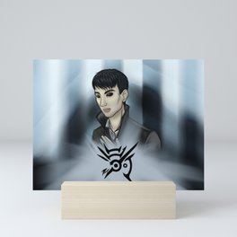 Dishonored -fan art- The Outsider Mini Art Print