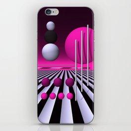go pink -3- iPhone Skin