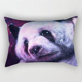 Sleepy Galaxy Giant Panda Rectangular Pillow