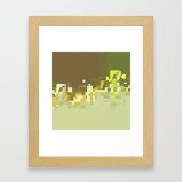 enclave 1 det Framed Art Print