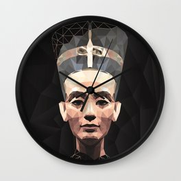 Nefertiti D Wall Clock