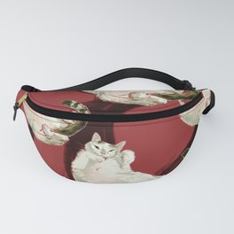 A Kitty portrait for a friend Fanny Pack