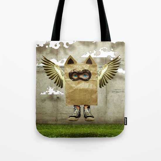 Fly try Tote Bag