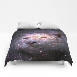 Tiger and Galaxy Comforters