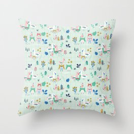 We Are Family! Throw Pillow