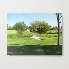 Bella Vista Open Space 2516 Metal Print