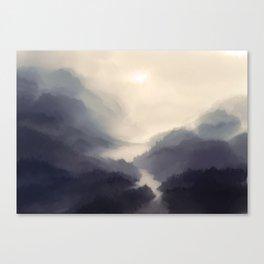 Mistscape Canvas Print