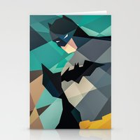 dc comics Stationery Cards featuring DC Comics Superhero by Eric Dufresne