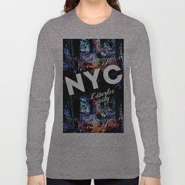 NEW-YORK (LIBERTEE CITY) Long Sleeve T-shirt