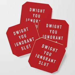 Ignorant Slut (Poppy) Coaster