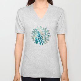 Pearl abstraction Unisex V-Neck