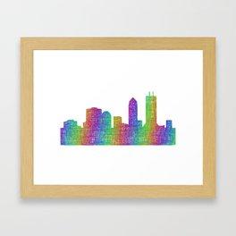 Jacksonville Framed Art Print