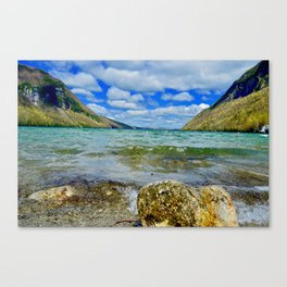 Lake Willoughby Canvas Print