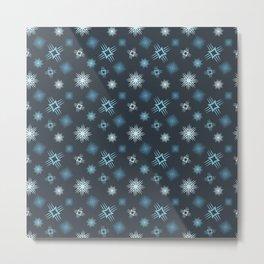 Winter Constellation Metal Print